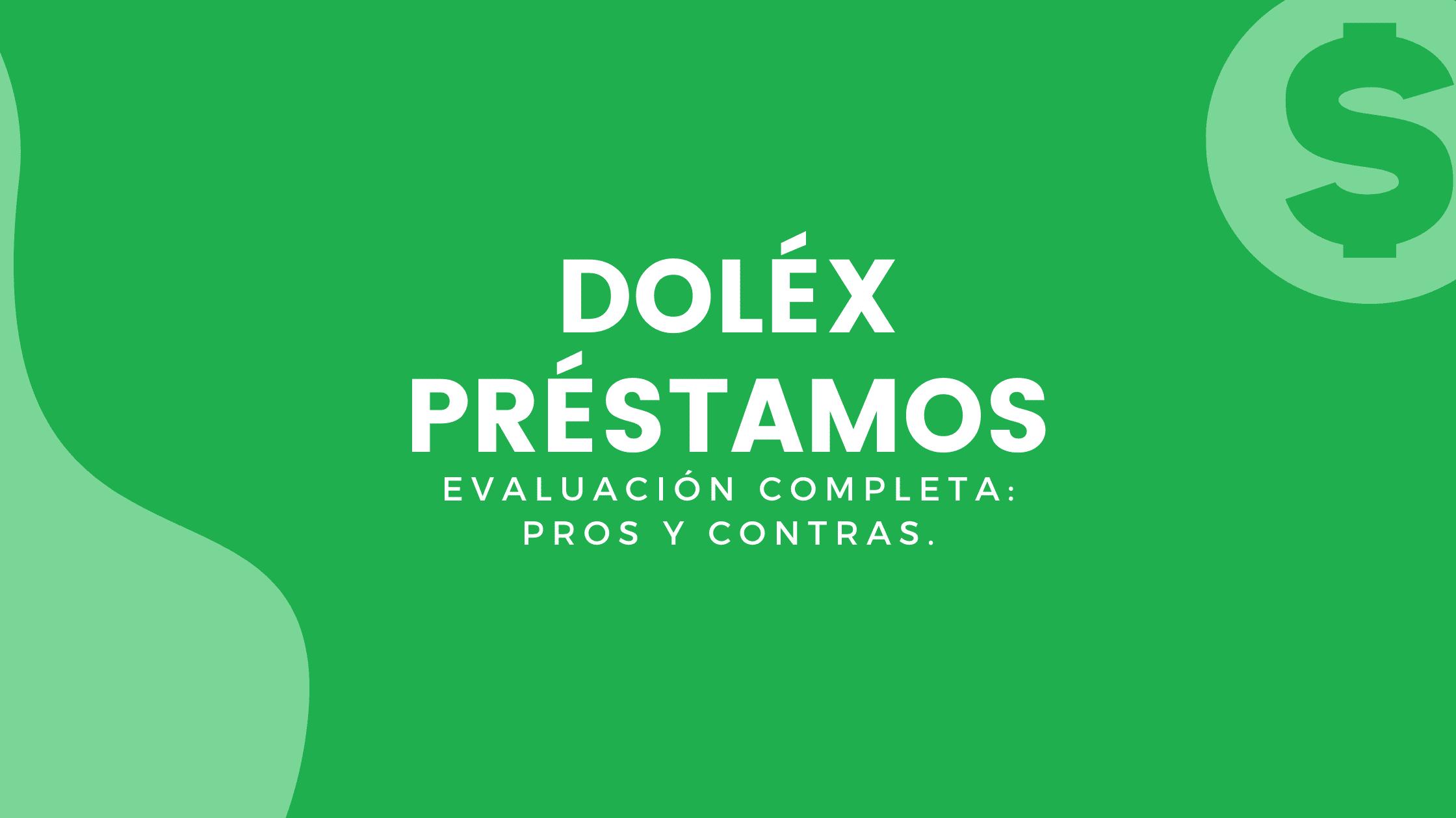 DOLEX PRÉSTAMOS