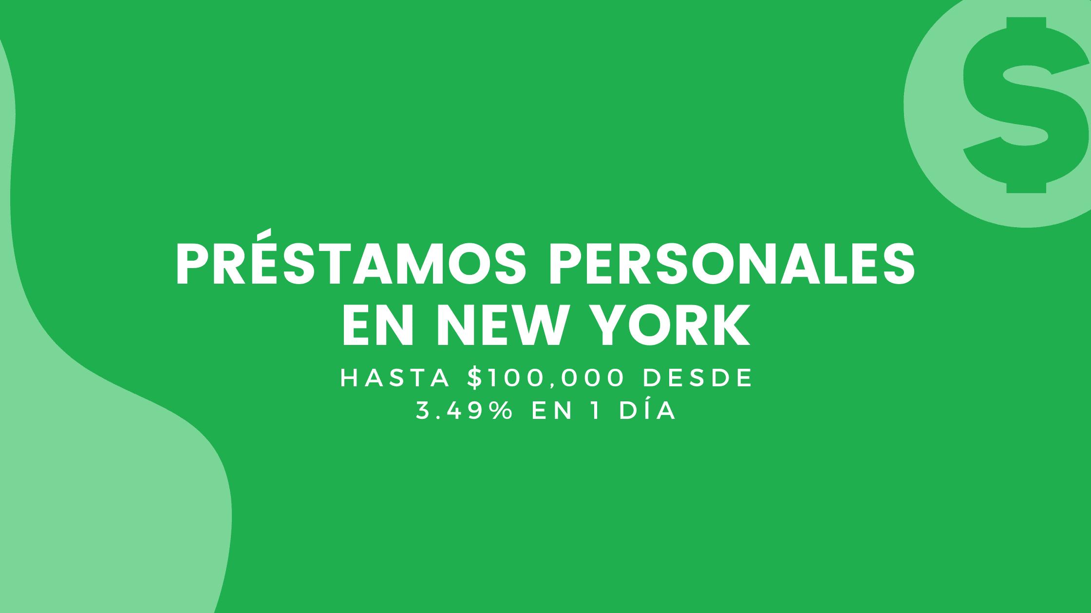 Préstamos Personales En New York