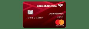 Mejores Tarjetas De Crédito - Bank Of America Cash Rewards