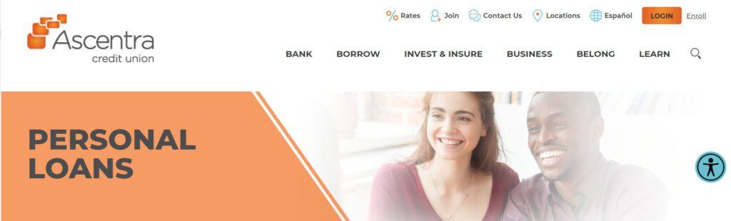 Ascentra Credit Union-Créditos personales