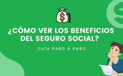 ¿Cómo ver mis beneficios del seguro social? Guía paso a paso 2021