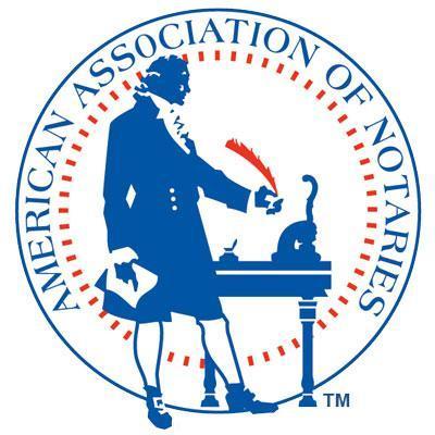 American Association of Notaries- logo