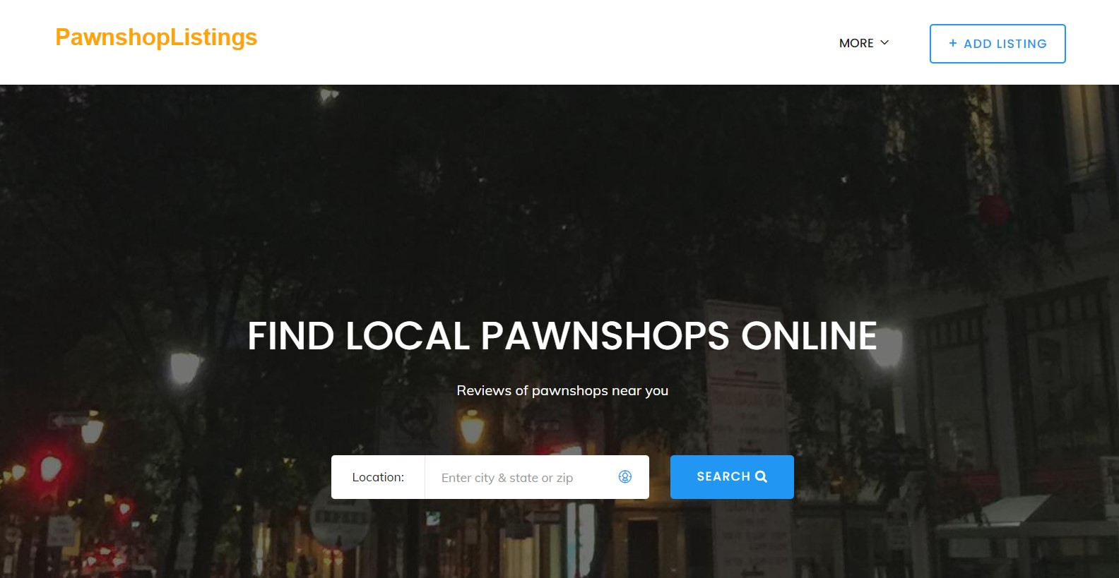 pawnshoplistings- Cómo encontrar una casa de empeño cerca de mí
