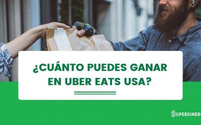 Conoce cuánto se gana en Uber Eats USA 2021✅